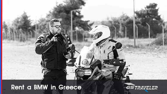 rent a motorcycle in Greece