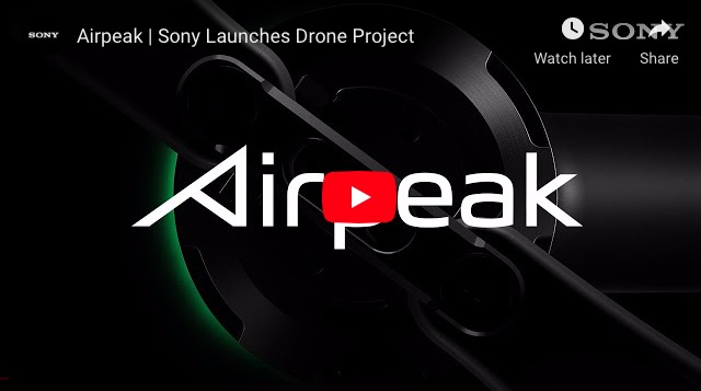 sony drone airpeak